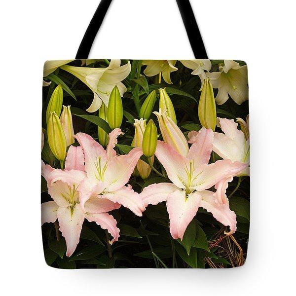 Springtime Blossoms Tote Bag by J Jaiam