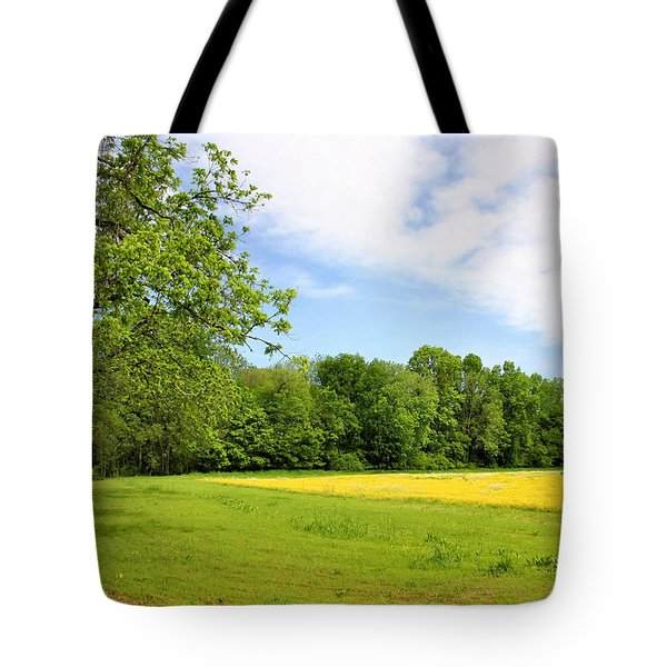 Springtime In Franklin Tote Bag by Kristin Elmquist