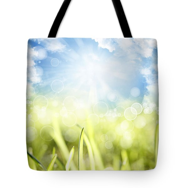 Springtime Tote Bag by Les Cunliffe