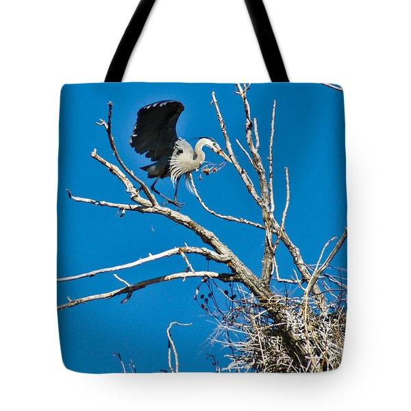 Springtime Nesting In Colorado Tote Bag