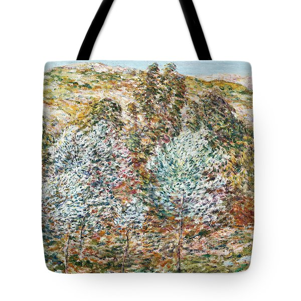 Springtime Vision Tote Bag by Childe Hassam
