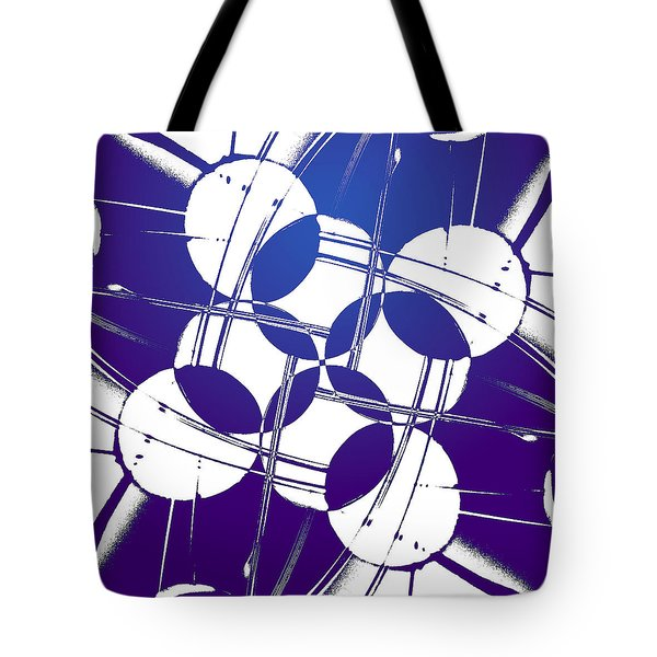 Square Circles Tote Bag