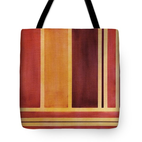 Square With Lines 2 Tote Bag by Hakon Soreide