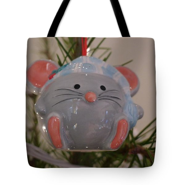 Tote Bag featuring the photograph Squeaky Xmas by Richard Reeve