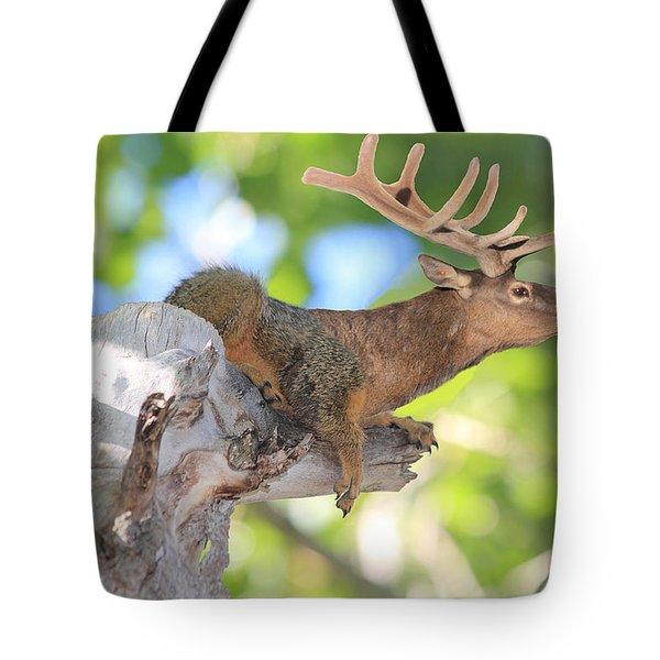 Squirrelk Tote Bag