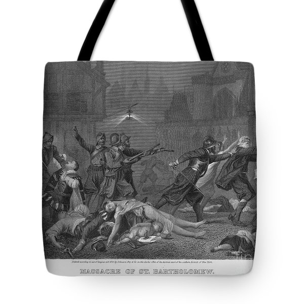 St Bartholomews Massacre Tote Bag by Granger