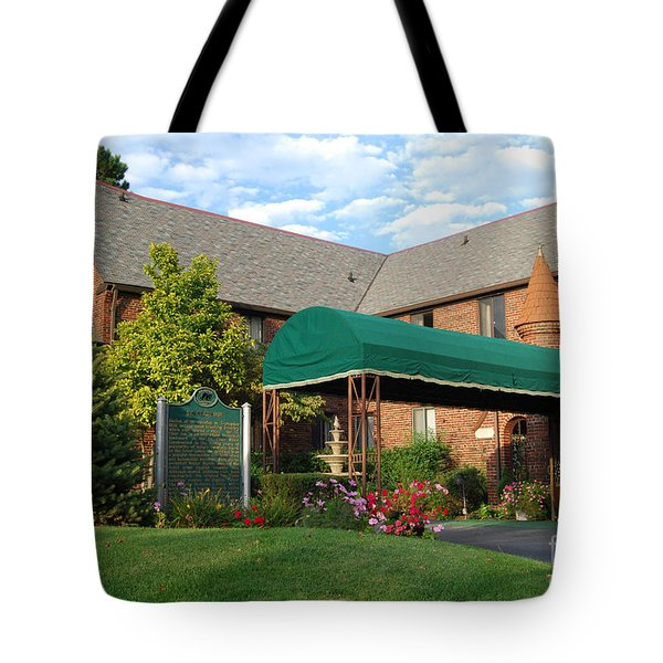 St Clair Inn Entrance Tote Bag