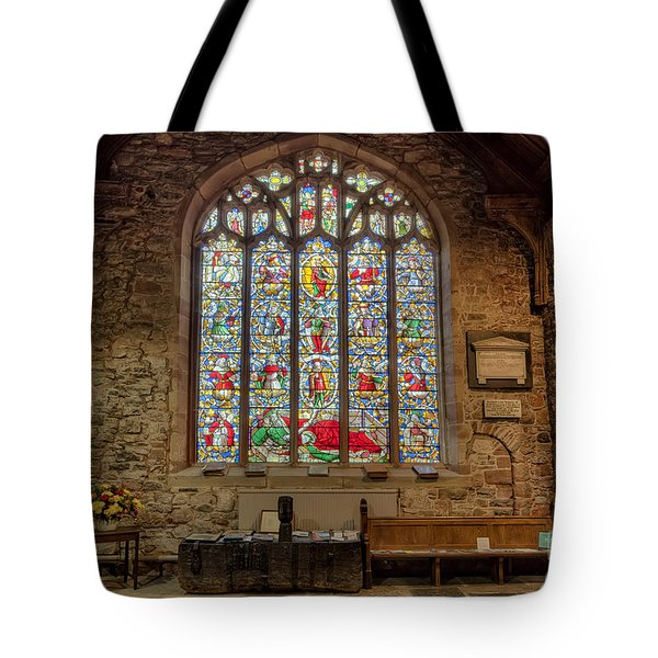 St Dyfnog Tote Bag by Adrian Evans