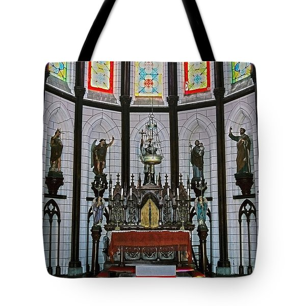 St. Francis Xavier Cathedral  Tote Bag by Juergen Weiss