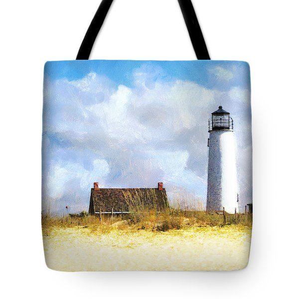 St. George Island Lighthouse Tote Bag