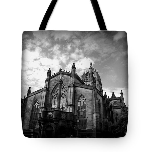 St Giles Cathedral Edinburgh Tote Bag by Ian Kowalski