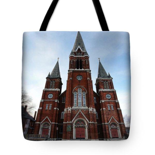 St. Josaphat Roman Catholic Church Detroit Michigan Tote Bag by Gordon Dean II