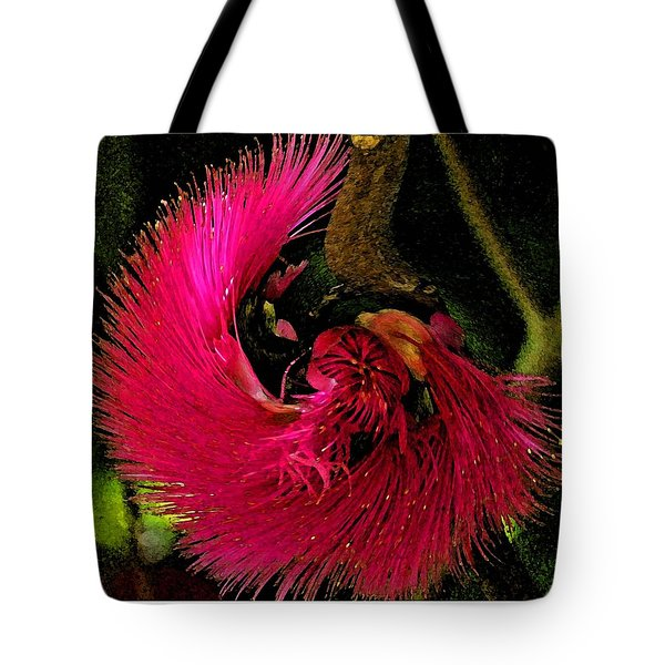 St Kitts Flora Tote Bag by Cindy Manero