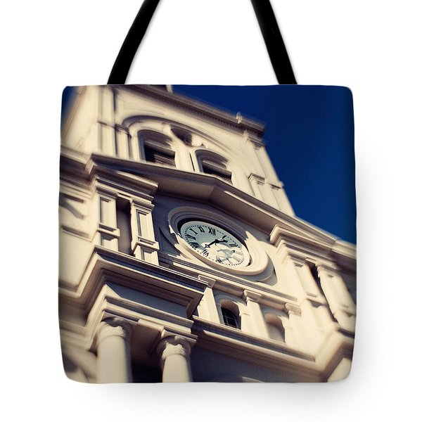St Louis Cathedral Tote Bag by Erin Johnson