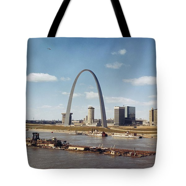 St. Louis: Waterfront Tote Bag by Granger