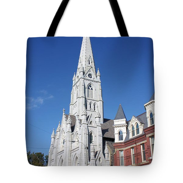 St. Mary's Basilica Tote Bag by Kristin Elmquist