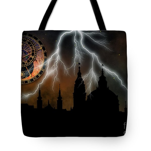 St Nikolas Church - Prague Tote Bag
