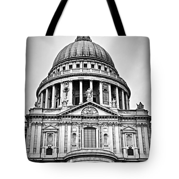 St. Paul's Cathedral In London Tote Bag by Elena Elisseeva