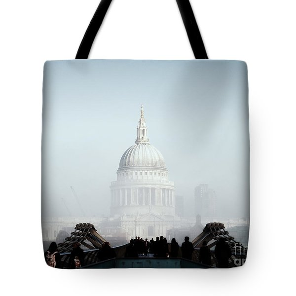 St Paul's Cathedral Tote Bag by Pixel  Chimp