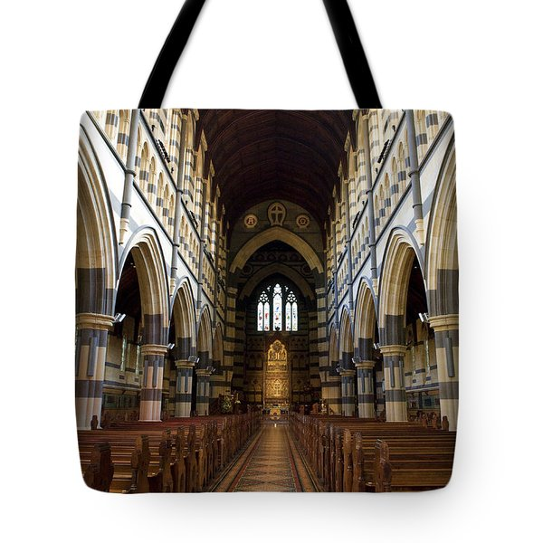 Tote Bag featuring the photograph St Pauls Cathedral by Yew Kwang