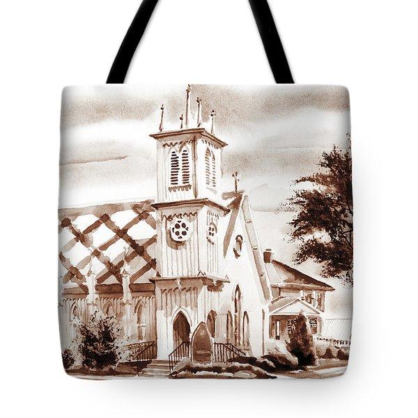 St. Pauls Episcopal Church IIi Tote Bag by Kip DeVore