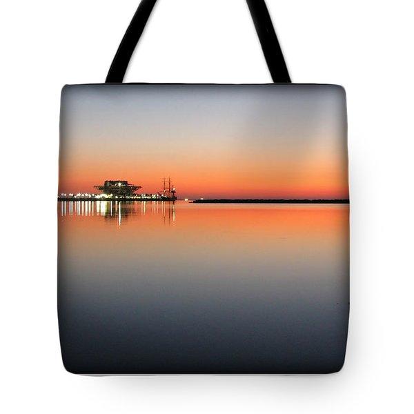 St. Pete Sunrise Tote Bag