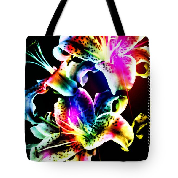 Stack Of Stargazers Dreaming Tote Bag by Mick Anderson
