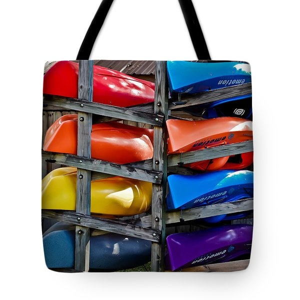 Stacked Emotions Tote Bag by DigiArt Diaries by Vicky B Fuller