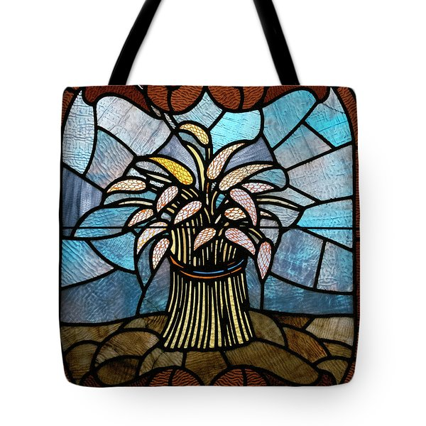 Stained Glass Lc 11 Tote Bag by Thomas Woolworth