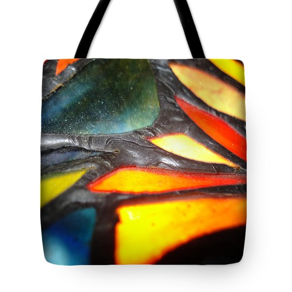 Stained Glass One Tote Bag