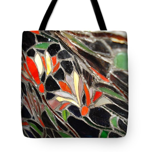 Stained Glass Two Tote Bag
