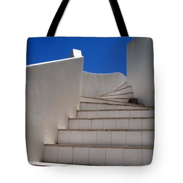 Stair To The Sky Tote Bag