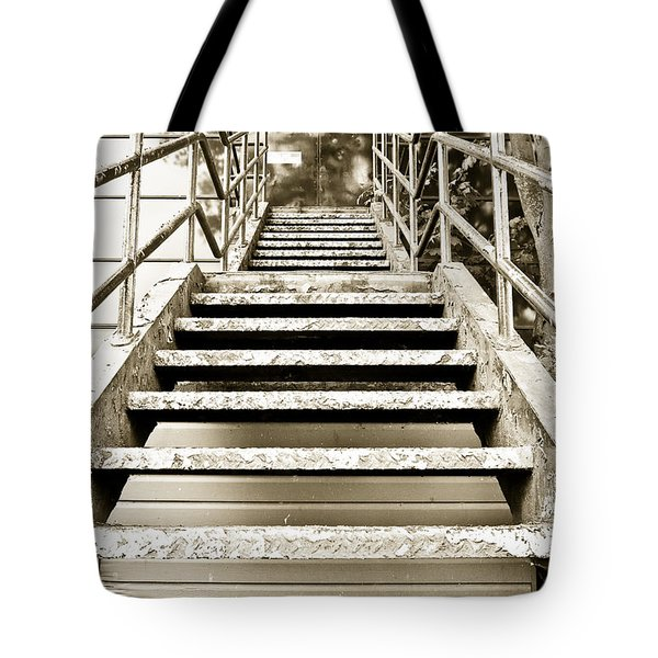Stairs Tote Bag by Tom Gowanlock