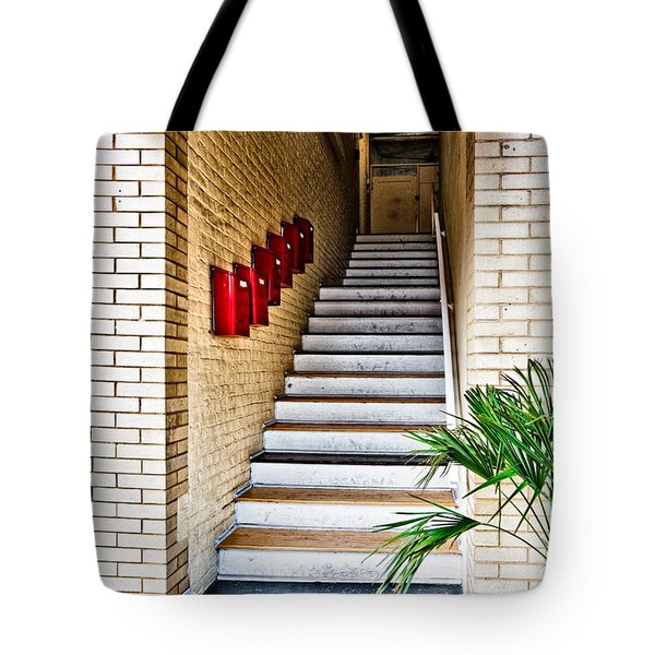 Stairway Tote Bag by Christopher Holmes