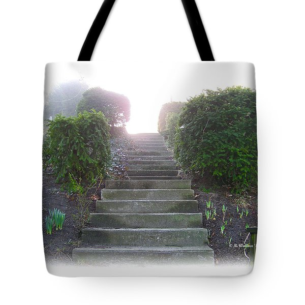 Stairway To A New Beginning Tote Bag by Brian Wallace