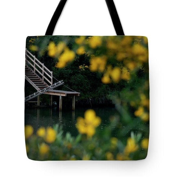 Tote Bag featuring the photograph Stairway To Heaven by Pedro Cardona