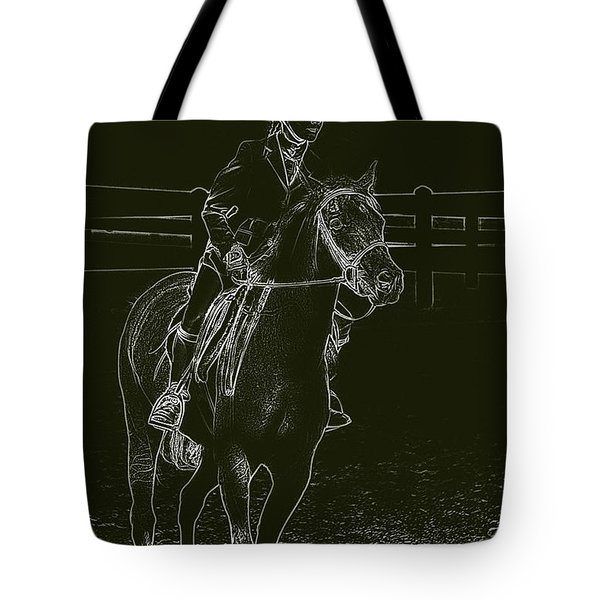 Stand Out Glowing Duo Tote Bag by Karol Livote