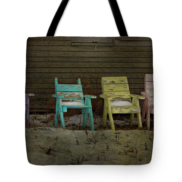 Standing For All Colours  Tote Bag by Empty Wall