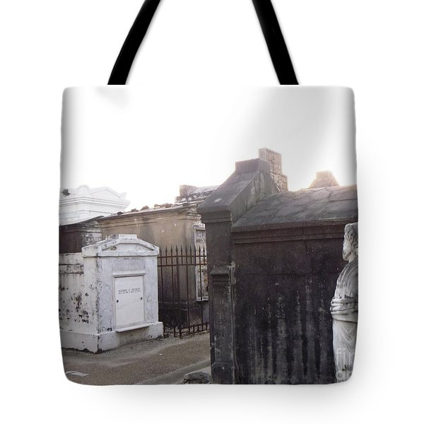 Tote Bag featuring the photograph Standing Guard by Alys Caviness-Gober