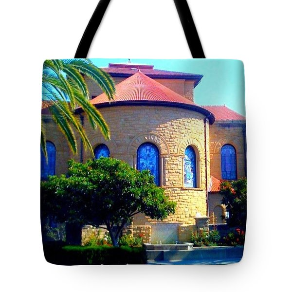 Stanford University Chapel - Palo Alto Ca Tote Bag