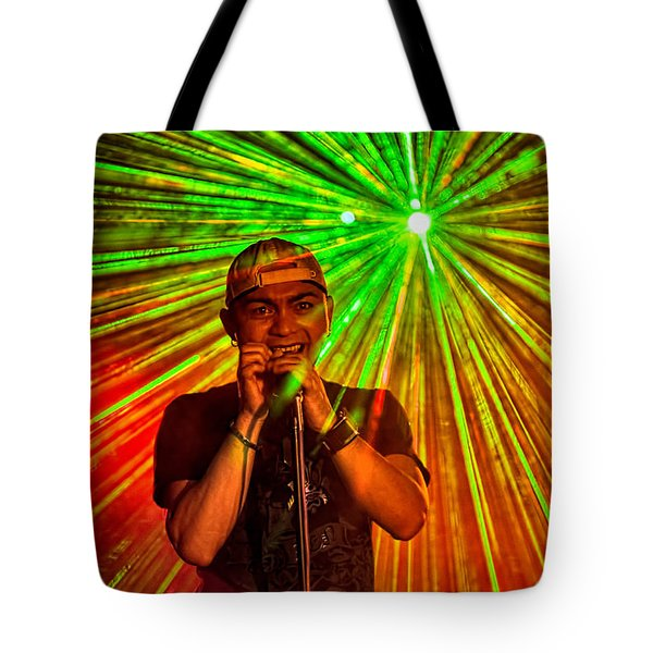 Star Burst Tote Bag by Christopher Holmes