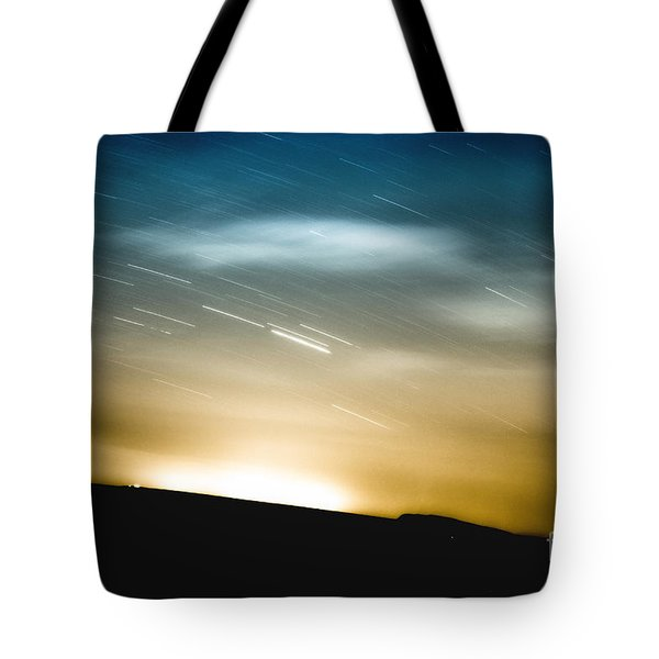 Star Trails Tote Bag by Roth Ritter