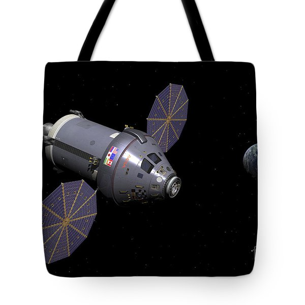 Starboard Side Of The Next Generation Tote Bag by Walter Myers
