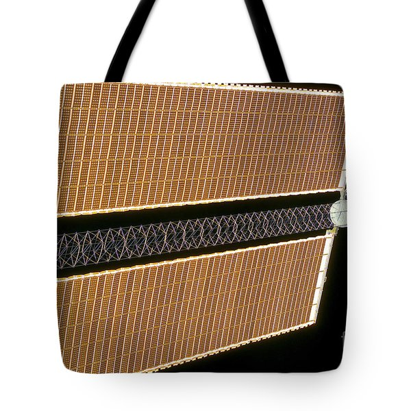 Starboard Solar Array Wing Panel Tote Bag by Stocktrek Images