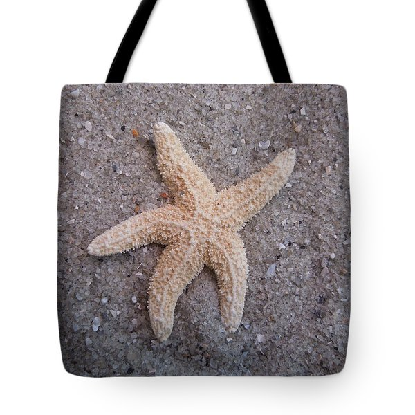 Starfish Tote Bag by Chad and Stacey Hall