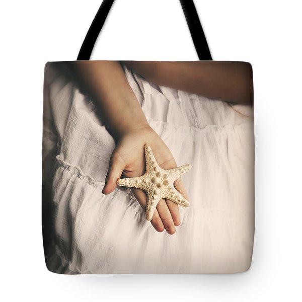 Starfish Tote Bag by Joana Kruse