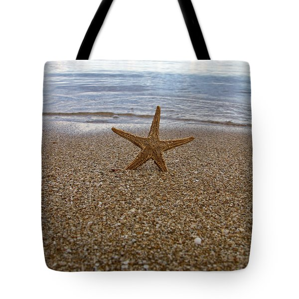 Starfish Tote Bag by Stelios Kleanthous