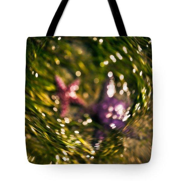 Starfish Swirl Tote Bag by Venetta Archer