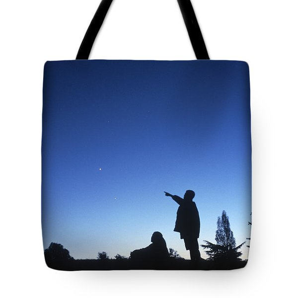 Stargazing Tote Bag by Science Source