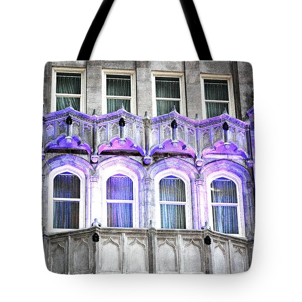 Tote Bag featuring the photograph Stark Blue by Shawn O'Brien